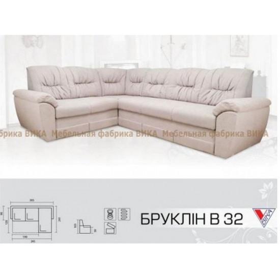 """Угловой диван Vika """"Бруклин"""" В-32"""