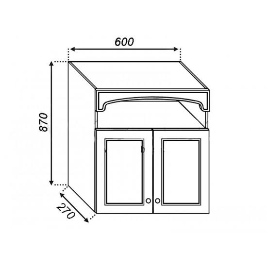 Кухонная секция Валенсия В 60