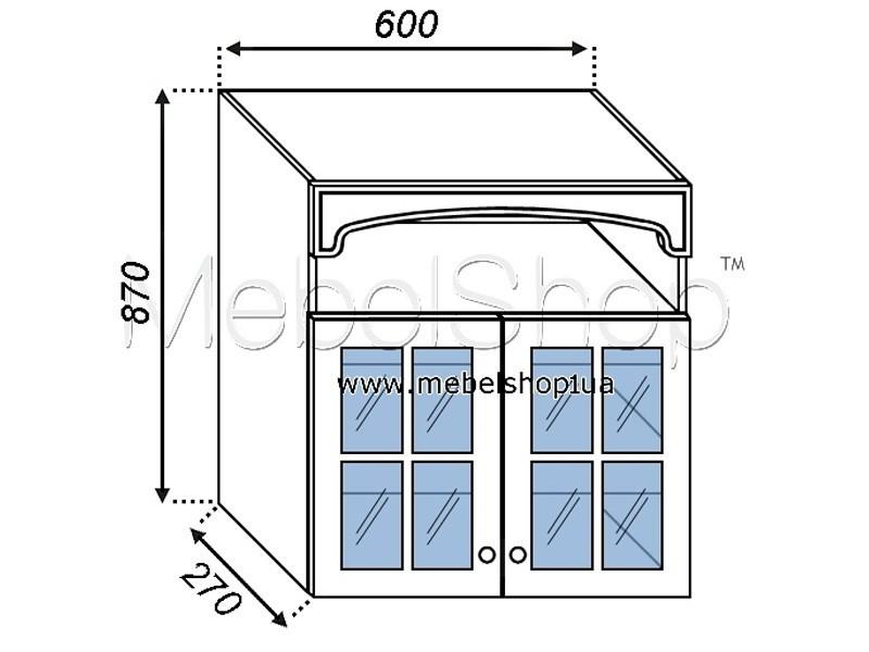 Кухонная секция Валенсия В 60Ск