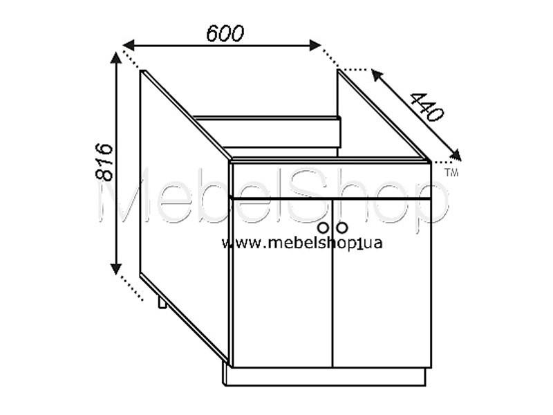 Кухонная секция Валенсия Н 60М