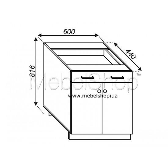 Кухонная секция Валенсия Н 60ДШ