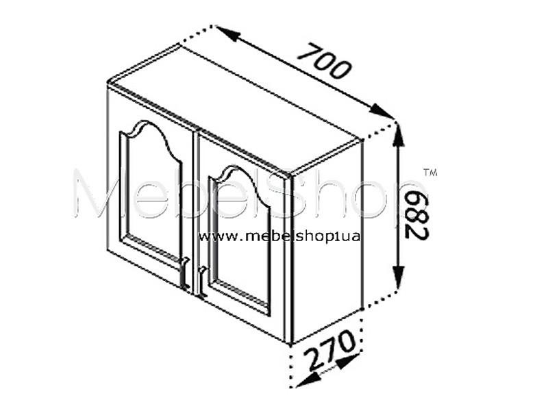 Кухонная секция Тюльпан В 70