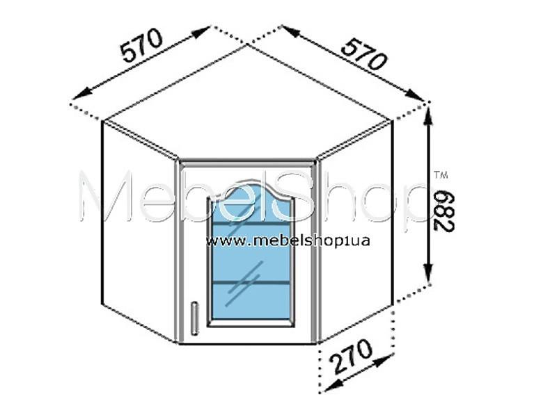 Кухонная секция Тюльпан 57*57Ск