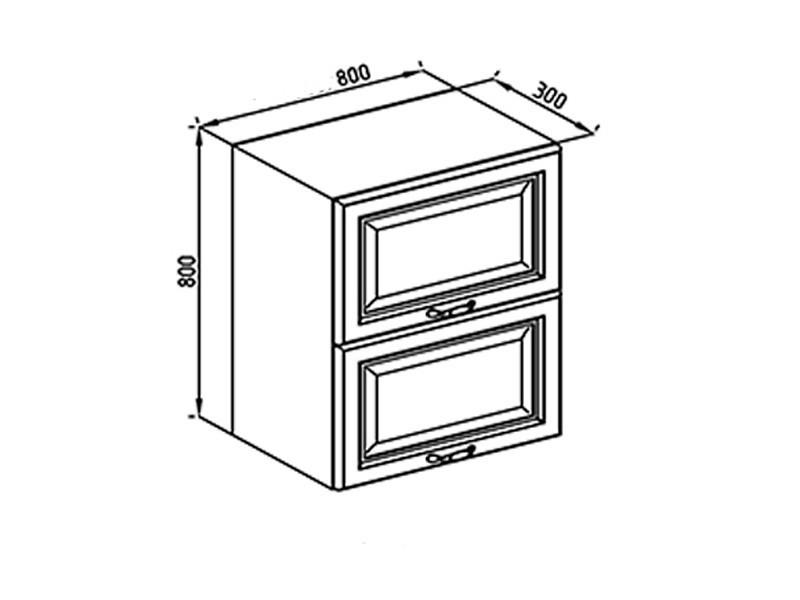 Кухонная секция Роксана В 80 Б