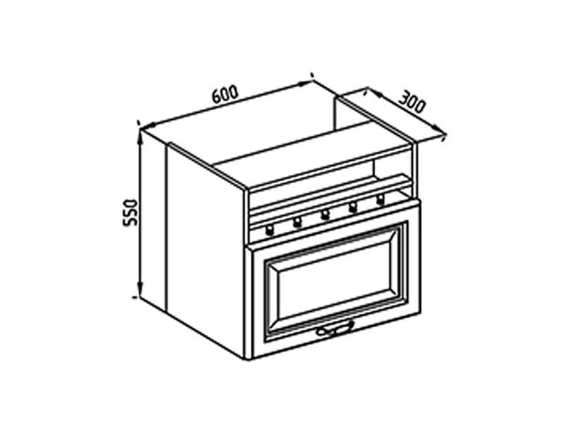 Кухонная секция Роксана 60 ОКАП