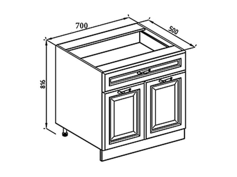 Кухонная секция Роксана В 70 2Д
