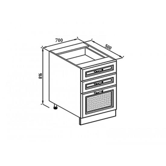 Кухонная секция Роксана Н 70Ш