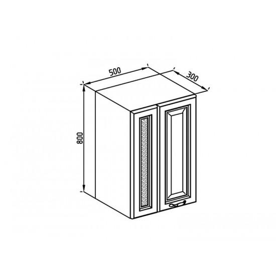 Кухонная секция Роксана В 50 2Д