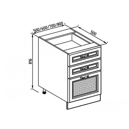 Кухонная секция Роксана Н 60 Ш