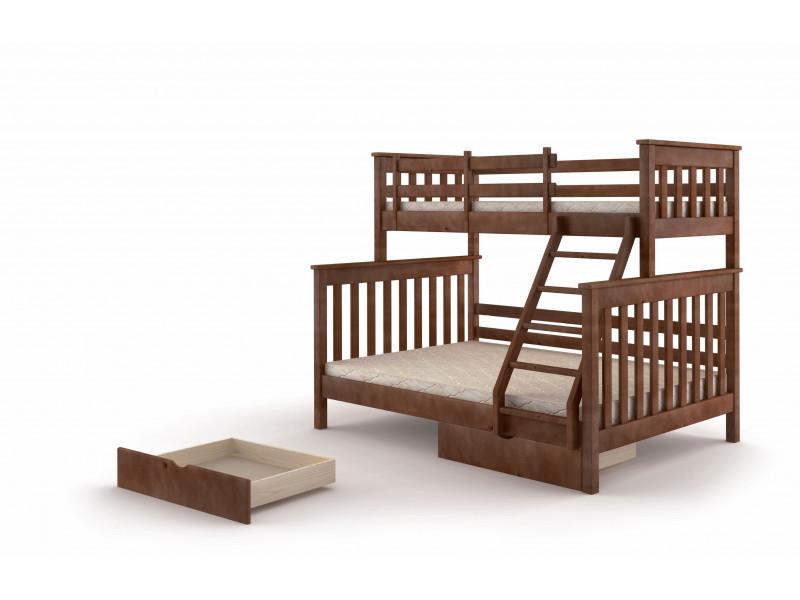 Кровать ММ  двухъярусная Скандинавия