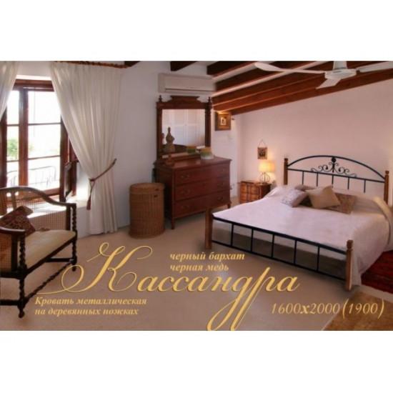 Кровать Кассандра МД (дерево) 140*190