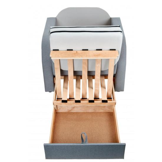 Кресло Кровать с ящиком для белья