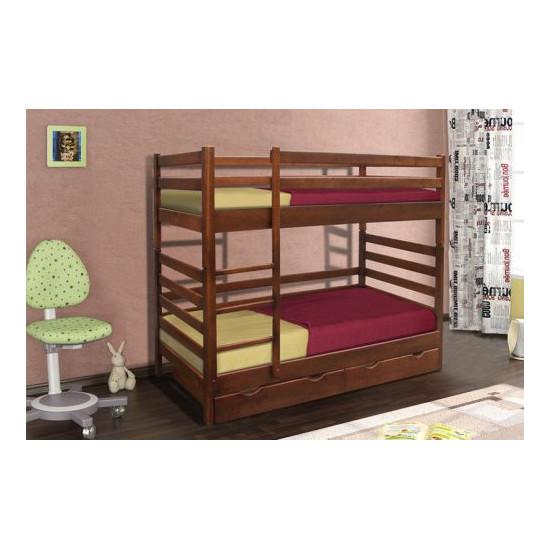 Двухъярусная кровать ММ Засоня 80*200