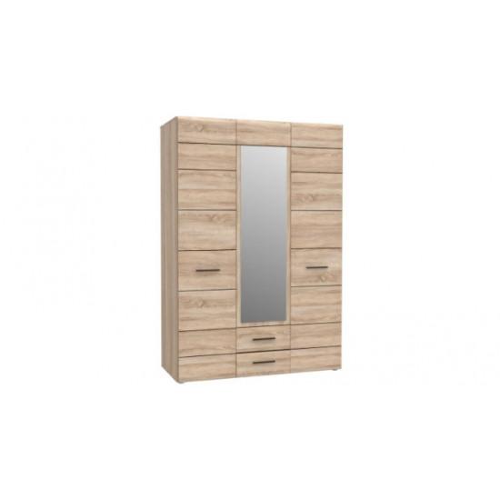 Шкаф 3Д2Ш с зеркалом Соло Холдинг