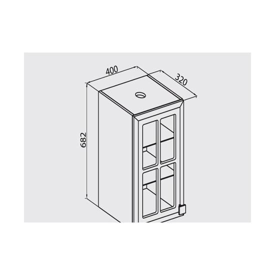 Кухонная тумба В40 СМ