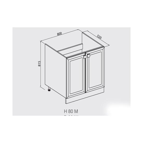 Кухонная секция Мишель Н80М