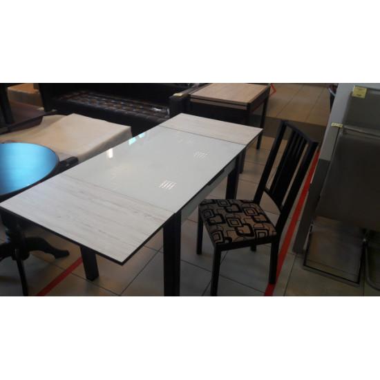 Стол Марсель со стеклом (110) Fusion F