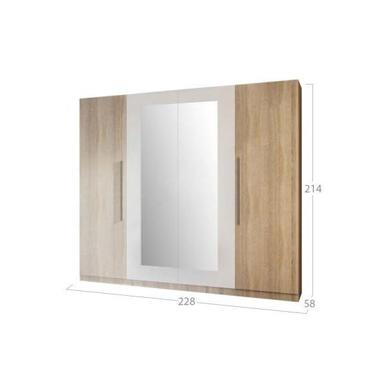 Шкаф 4Д СМ Лилея Нова