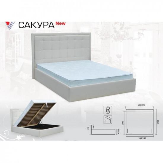 Кровать Vika Сакура без матраса