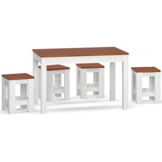 Набор Стол +4 табурета MS Дельта