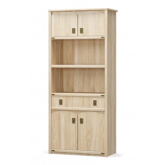 Книжный шкаф 4Д1Ш MS Валенсия