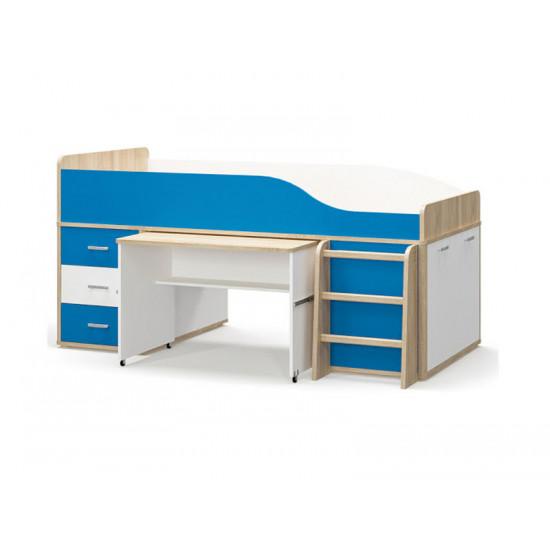 Кровать Горка MS Лео