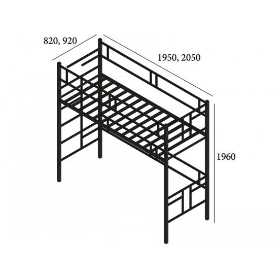 Кровать чердак МД