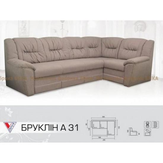 """Угловой диван Vika """"Бруклин"""" А-31"""